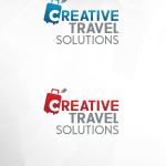 Creative Travel logóterv a Maarsk Graphics tervezésében