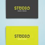 Stúdió logóterv a Maarsk Graphics tervezésében