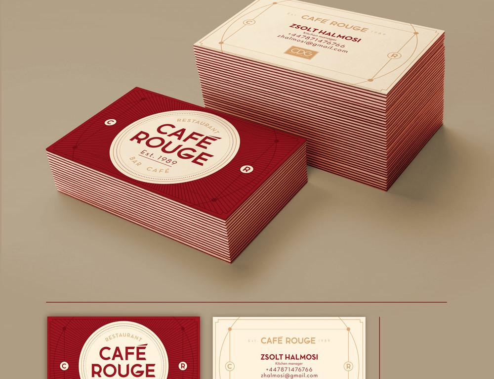 Café Rouge névjegy