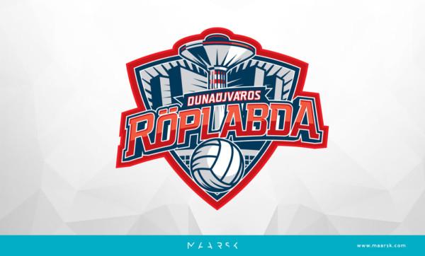 Dunaújvárosi Röplabda Egyesület logója - Maarsk Graphics