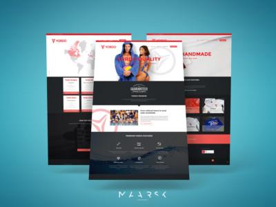 A Yordo sportfelszereléseket gyártó cég weboldalának újratervezése, és elkészítése