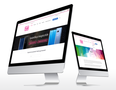 Webshop készítés