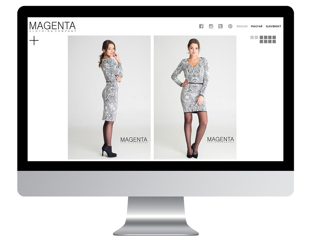 Magenta weboldal, Maarsk graphics tervezés