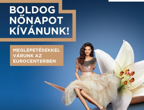 Eurocenter nőnapi kampány