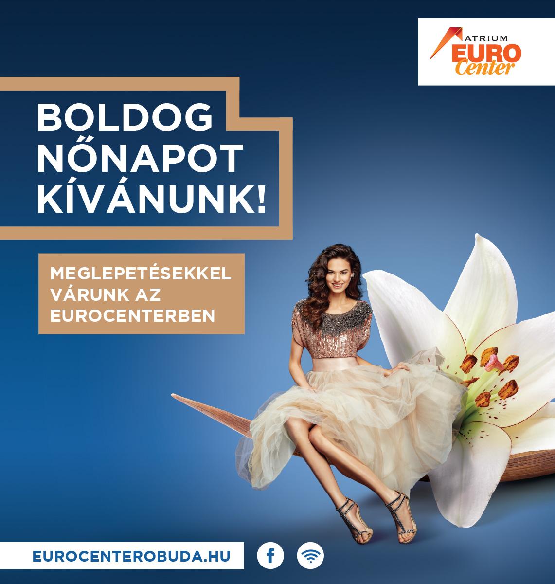 Eurocenter nőnapi infopult