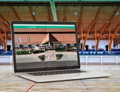 Website for a Sports Hall